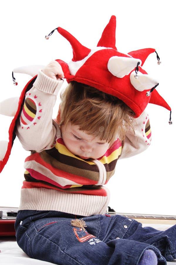 Infants cap royalty free stock image