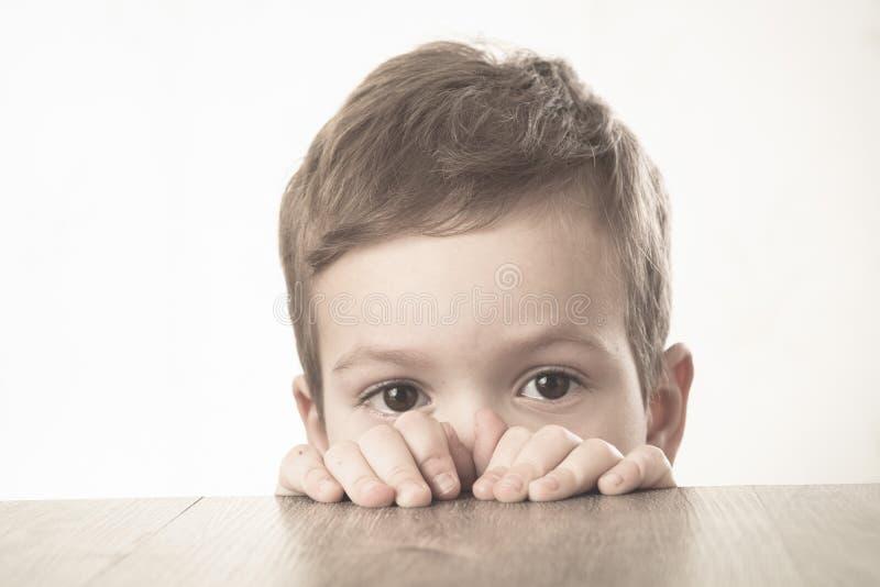 Infanzia del bambino del fronte del bambino del ragazzo felicit? fotografia stock libera da diritti