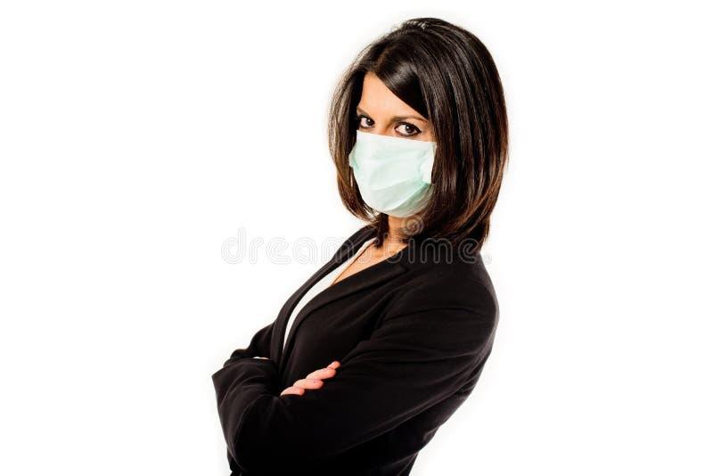 Infektionsfurcht lizenzfreies stockbild