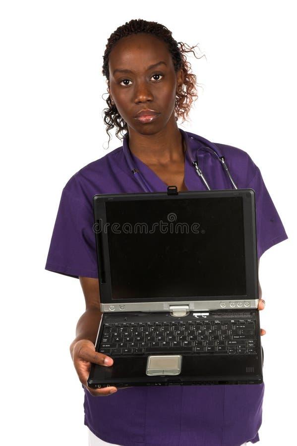 Infermiera medica fotografie stock
