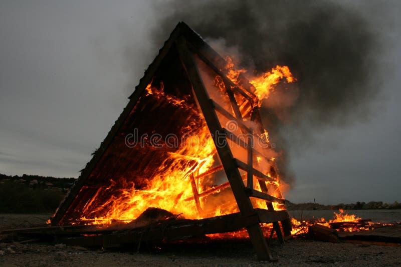 Inferno fotografie stock libere da diritti