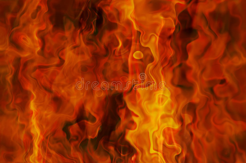 Inferno stock abbildung