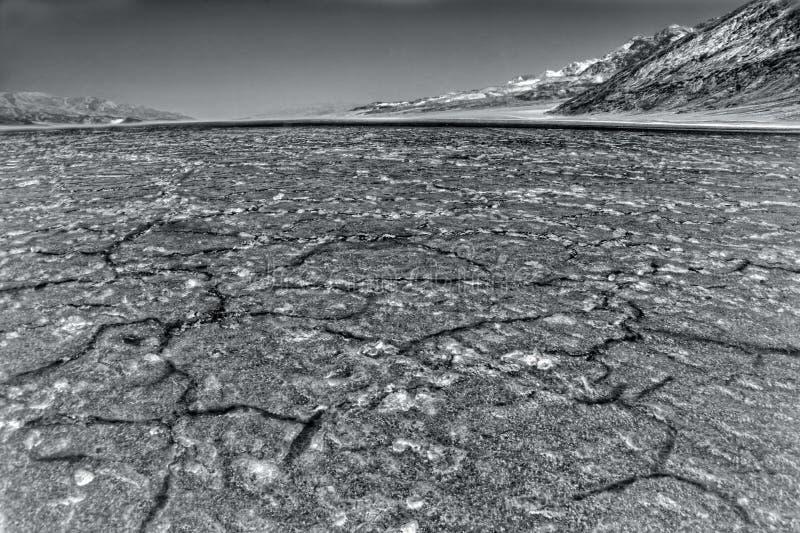 Inferno in Death Valley fotografie stock