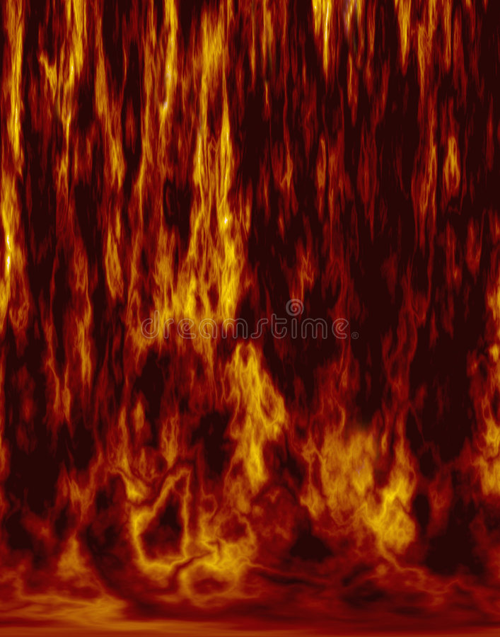 Inferno do incêndio fotografia de stock royalty free