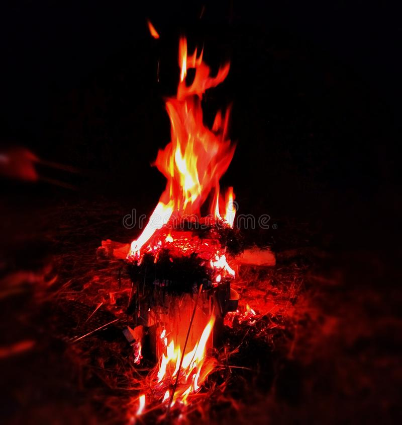 Inferno - The Fire of Hell royalty free stock image