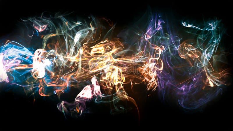 Inferno 5K - una composizione del fumo immagini stock