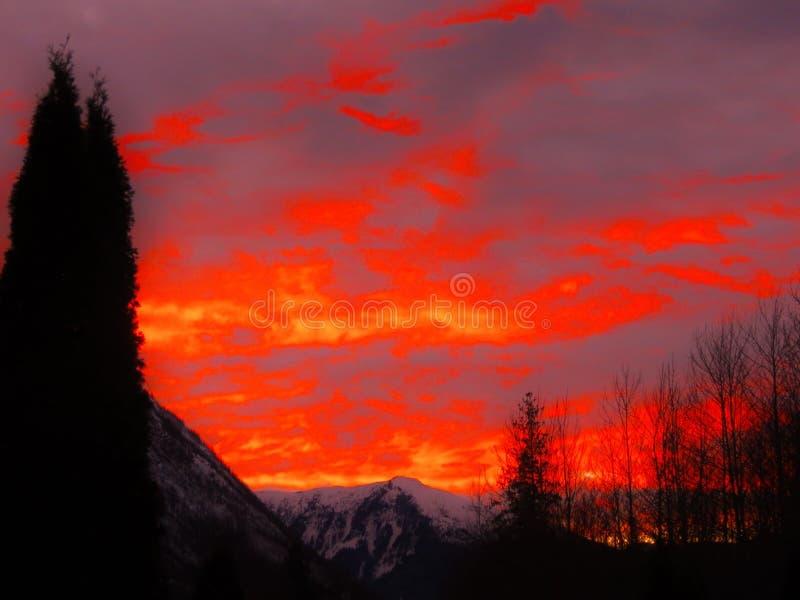 Inferno Sky stock photos