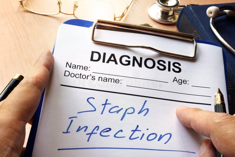 Infezione stafilococcica immagini stock libere da diritti