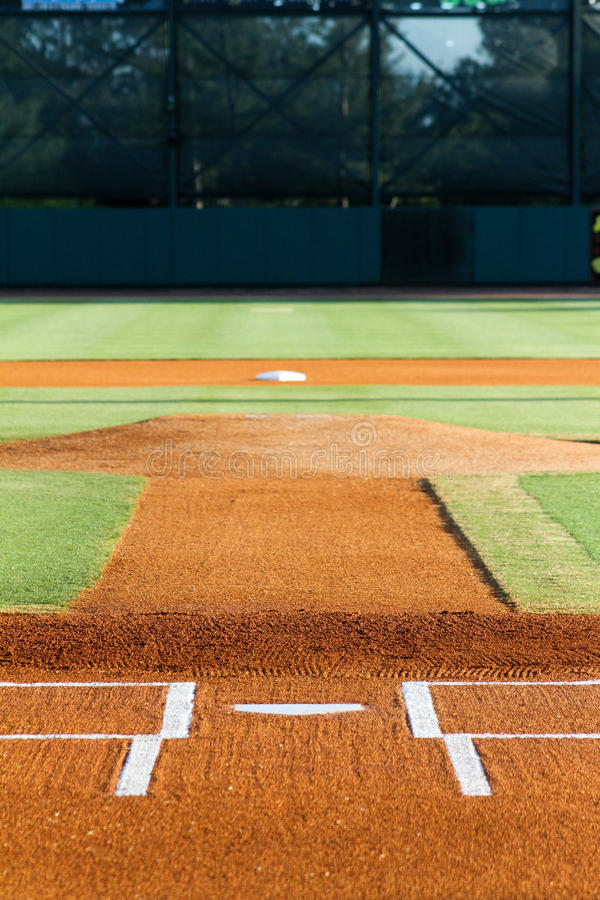 Infield Joe Riley Stadium di baseball immagini stock