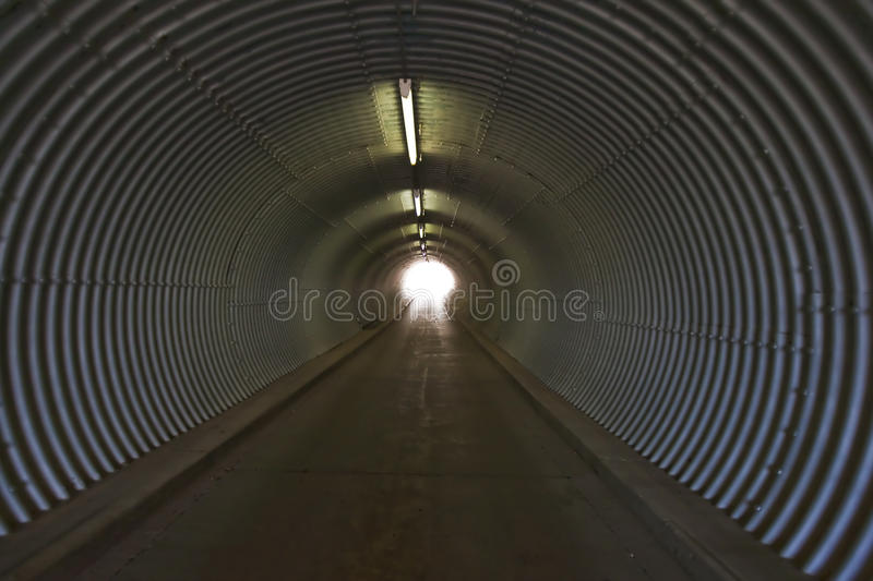 Infield Tunnel royalty free stock photography