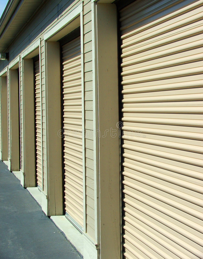 Download Infinate Doors stock image. Image of garage, building, brown - 94433