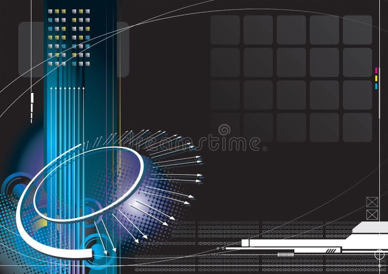 Infinidade alta tecnologia ilustração do vetor