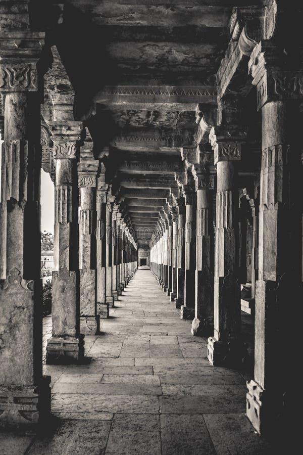 Infinidade capturada em preto e branco foto de stock royalty free