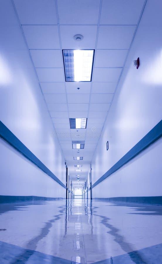 Infinite hallway stock photo