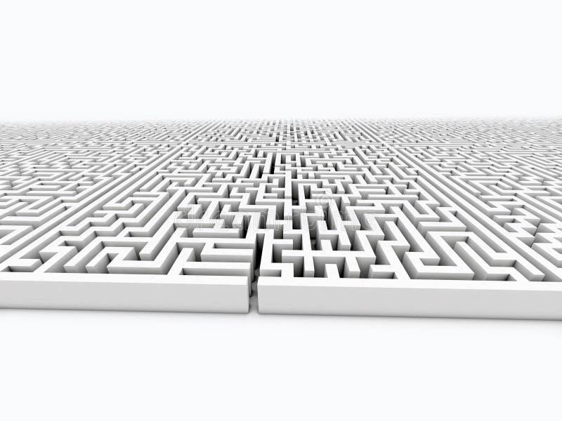 Infinite labyrinth