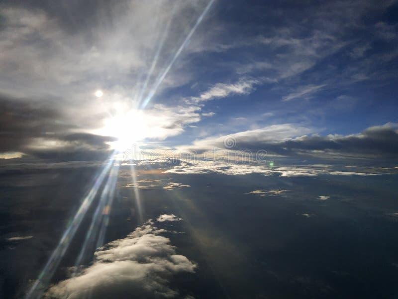 Infinite light. Sun sky cloud royalty free stock photo