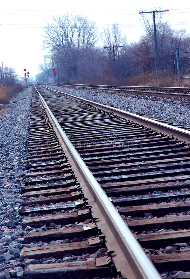 Download Infinite railroad stock image. Image of road, tracks, distance - 4510419