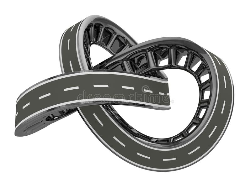 Download Infinite Road stock photo. Illustration of continuous - 32744406