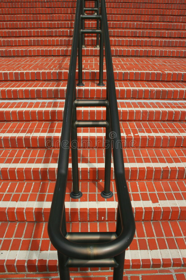 Download Infinite Steps And Handrails Stock Photo - Image of linea, grey: 4913568