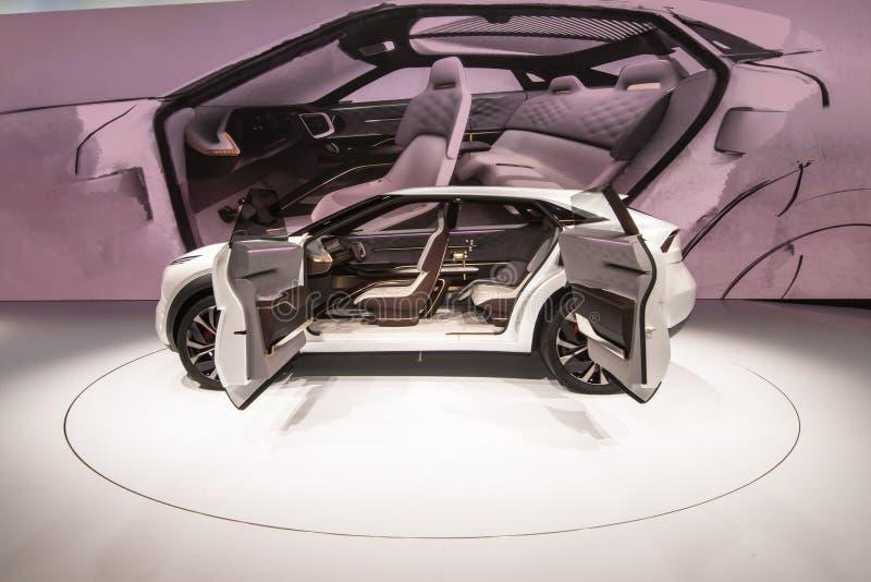 Infiniti QX inspiracji pojęcie SUV zdjęcie stock