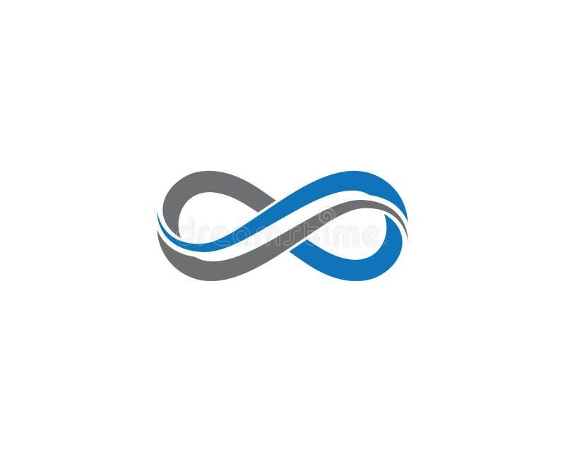 Infinito Logo Template stock de ilustración
