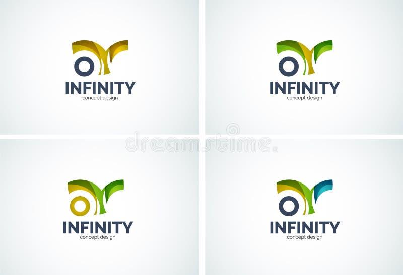 Infinity company logo icon royalty free illustration