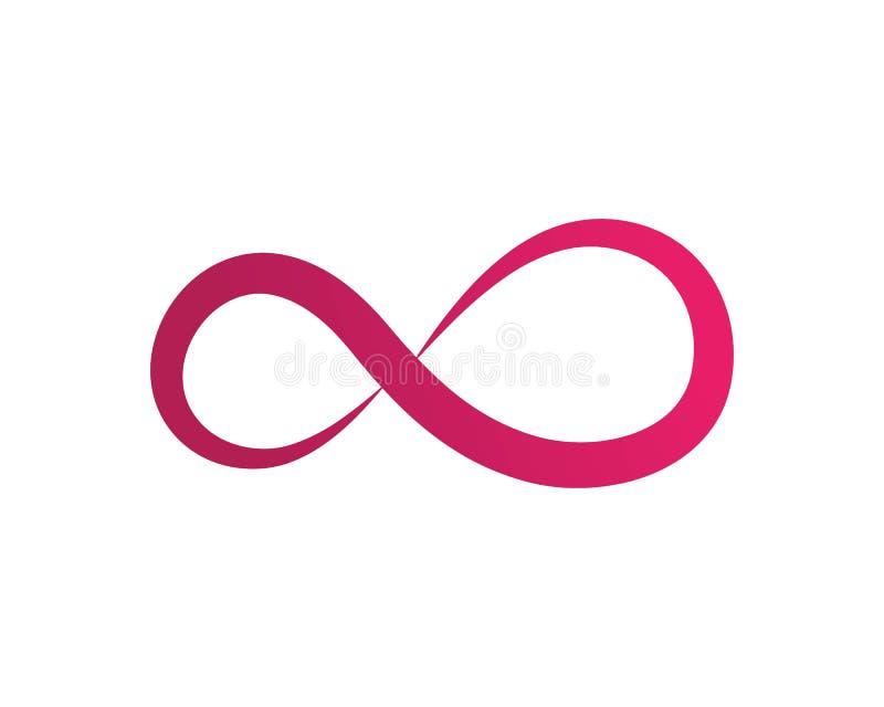 Infinity Design Vector. Icon illustration Logo template design motion concept unusual illusion program loop mark business line symbol dynamic element limitless stock illustration