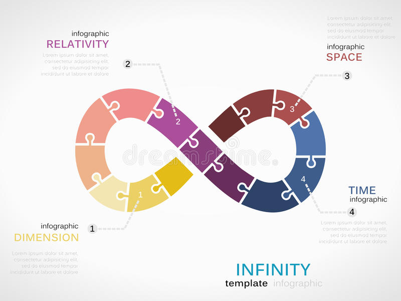 Infinity vector illustration