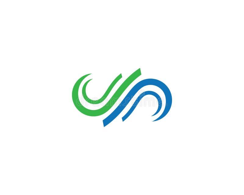 Infinity logo template vector icon illustration. Design, motion, concept, unusual, mathematical, illusion, program, loop, mark, business, line, symbol, dynamic royalty free illustration