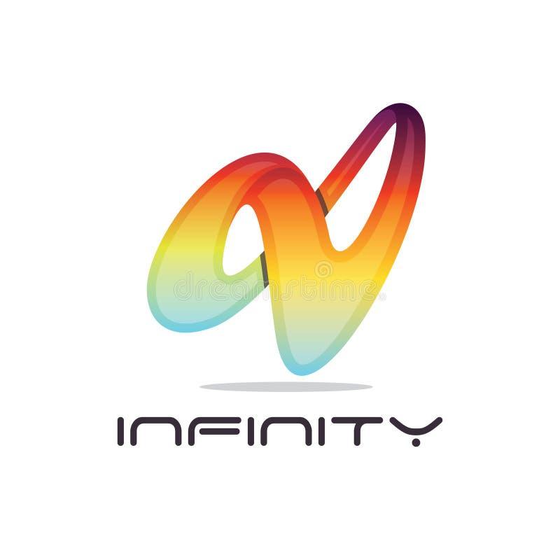 Infinity stock illustration