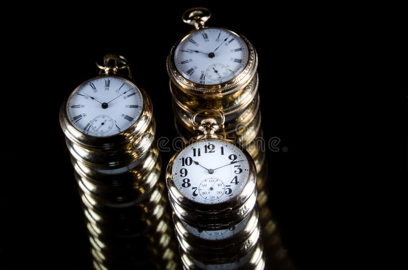 Infinity and the Never Ending Progression of Time. Infinity and the Long Never Ending Progression of Time royalty free stock photos