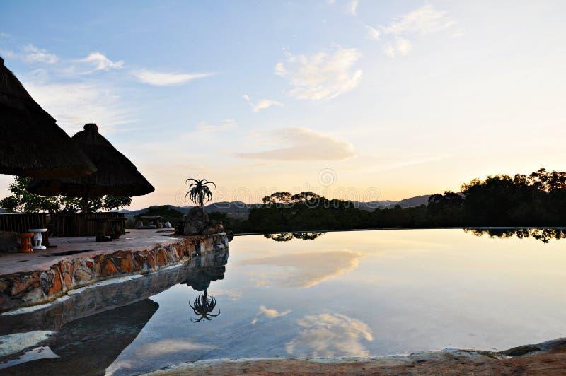 Infinity Pool, Matobos, Zimbabwe royalty free stock images