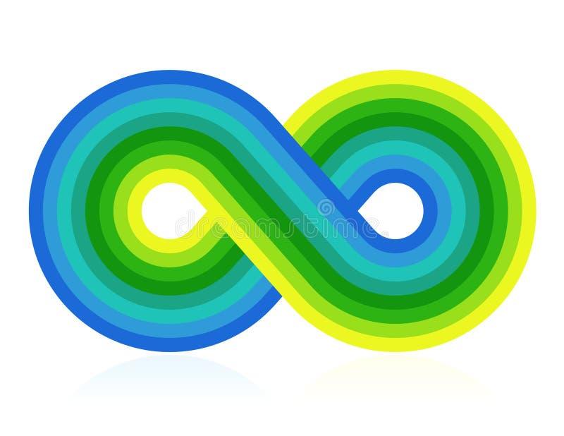 Download Infinity symbol stock vector. Illustration of orange - 12898314