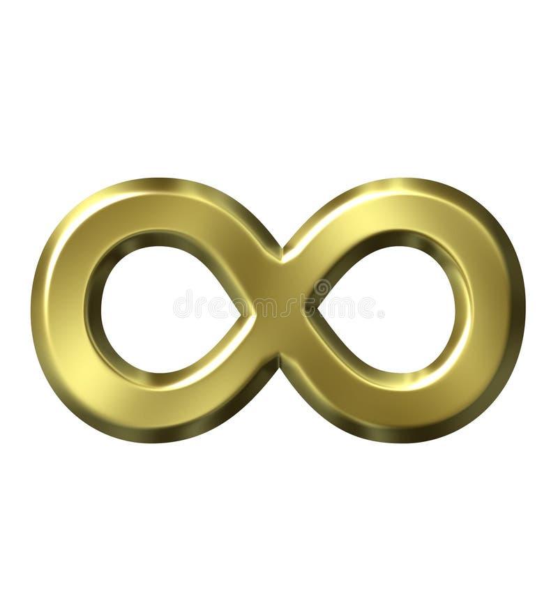 Download Infinity Symbol stock illustration. Illustration of metallic - 2690693