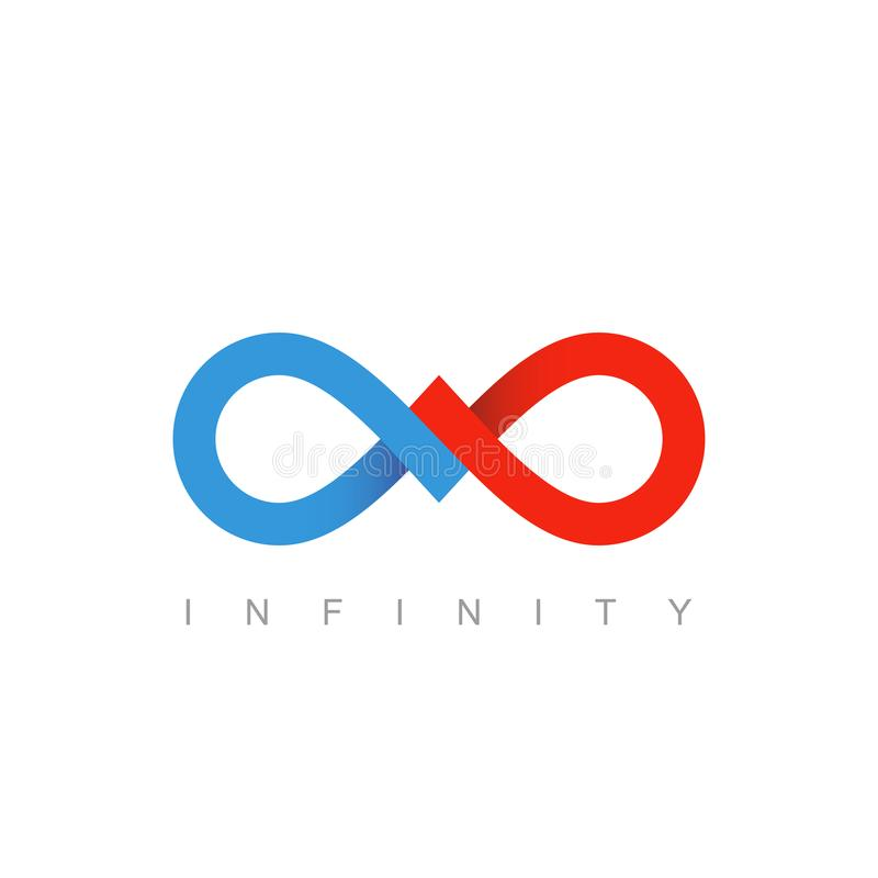 infinity symbol business communication concept stock vector rh dreamstime com infinity logistics springfield mo infinity logistics international