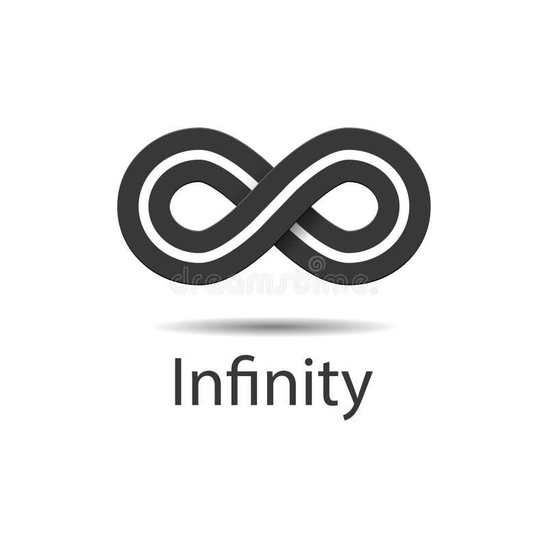 Infinity Symbol Logo Vector Illustration Stock Vector