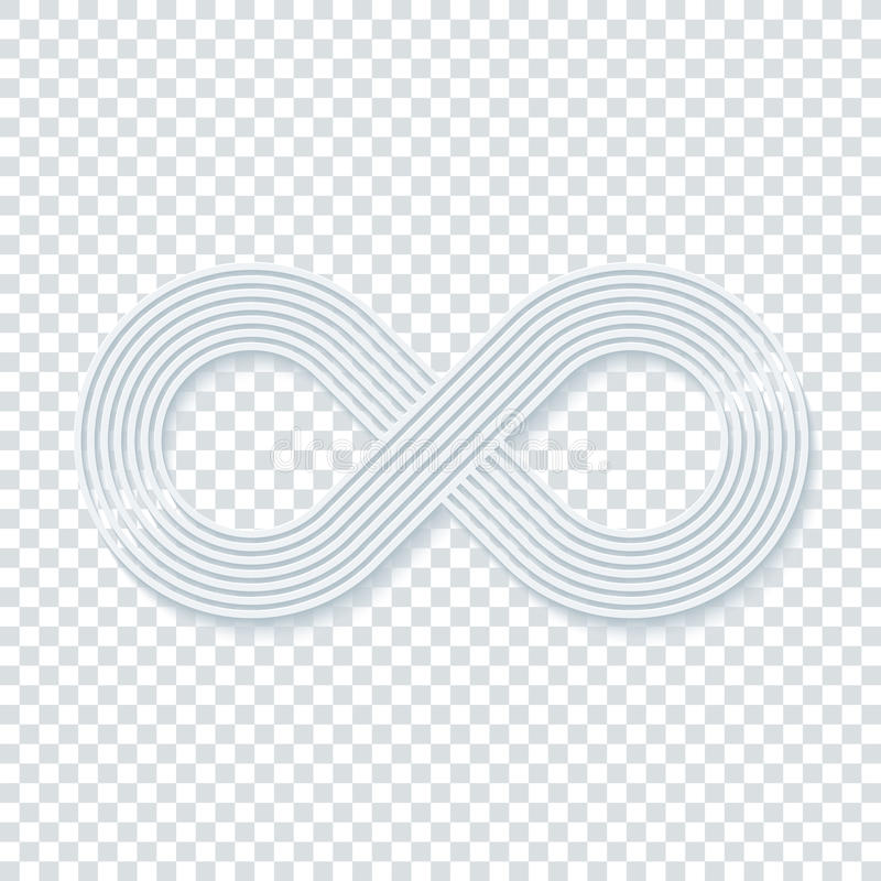 Infinity Symbol Stock Vector Illustration Of Illusion 78462816