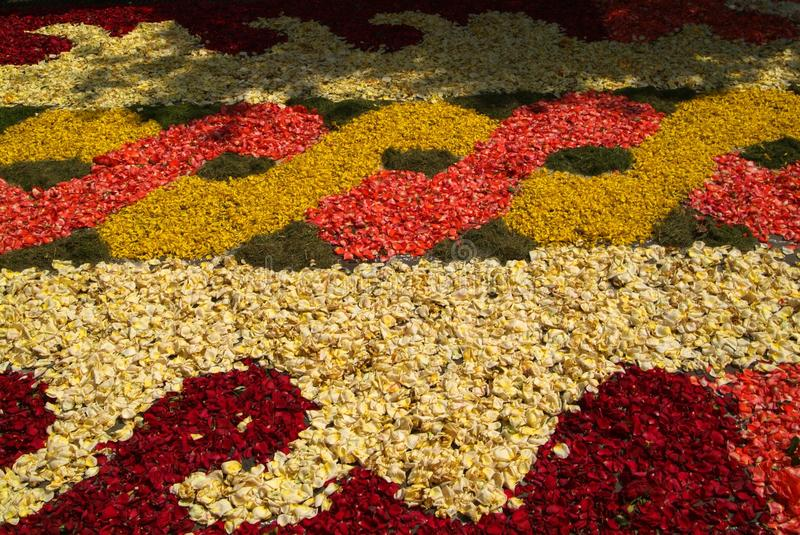 Download Infiorata Il Giorno Di Corpus Christi Fotografia Editoriale - Immagine: 28534691