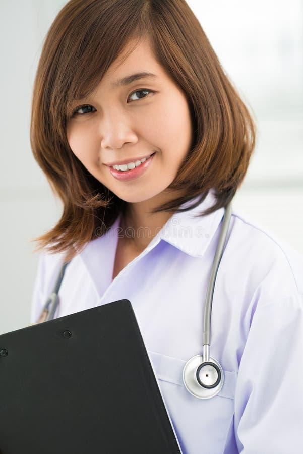 Infirmière asiatique photographie stock