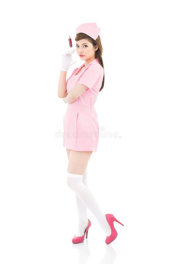 Infirmière attirante photo libre de droits