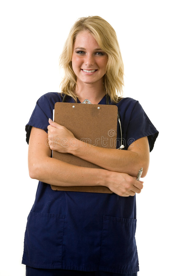 Infirmière de jeunes photos stock