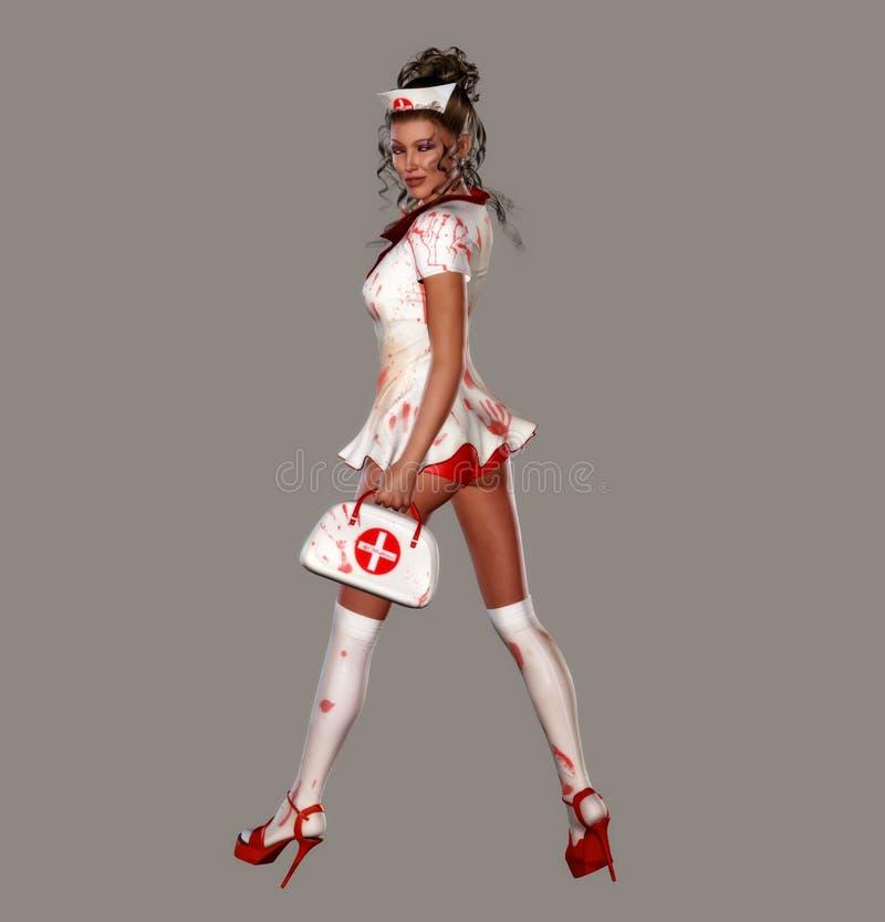 Infirmière fantasmagorique illustration libre de droits