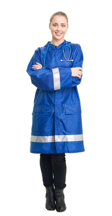 Infirmière heureuse photo libre de droits