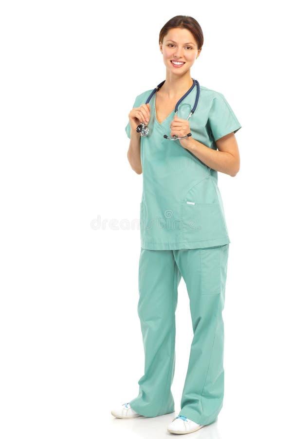 Infirmière médicale image stock