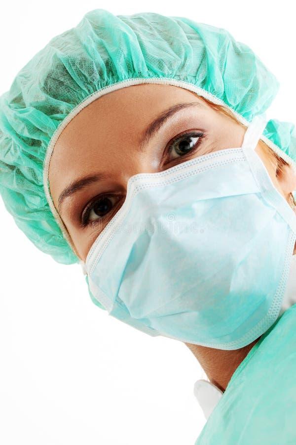 Infirmière ou docteur images stock