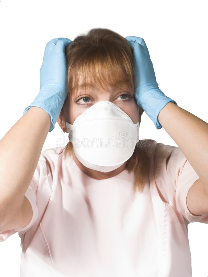 Infirmière ou docteur photo stock