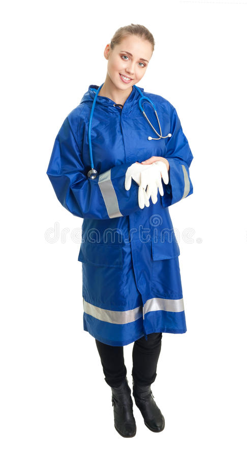 Infirmier de femme photo stock