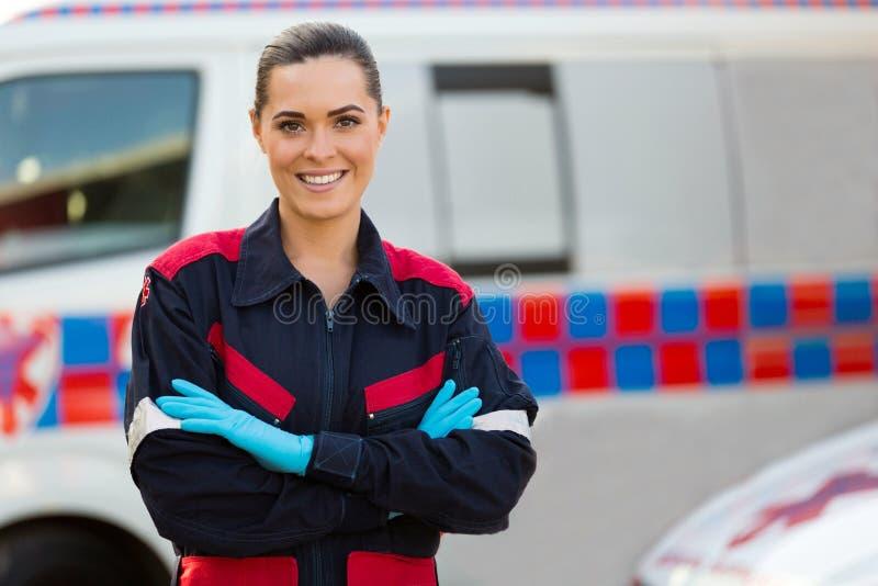 Infirmier féminin photo stock