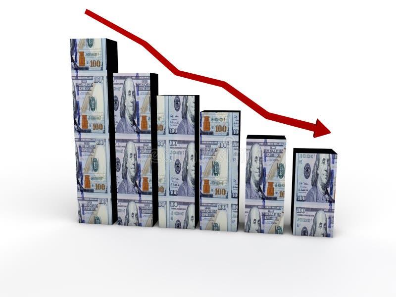 inflación ilustración del vector