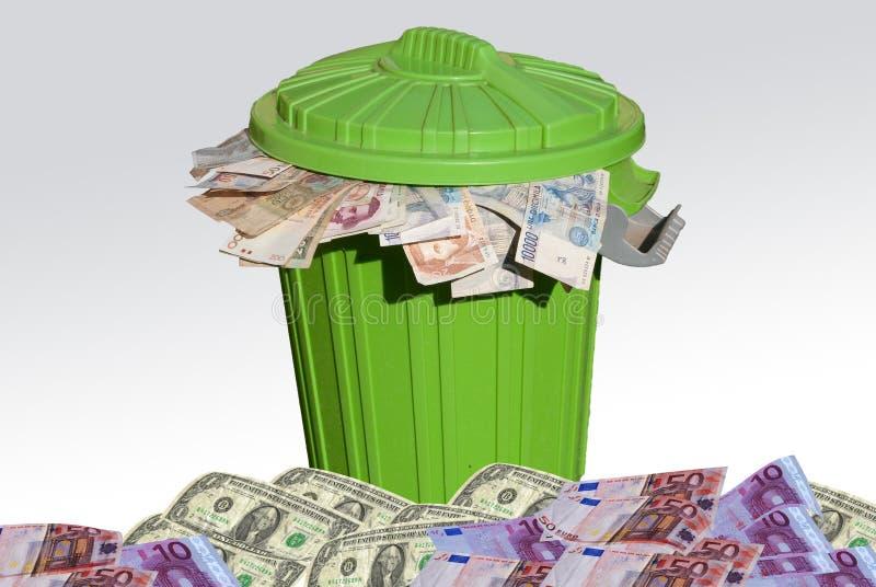 Inflación de la especulación e imágenes de archivo libres de regalías